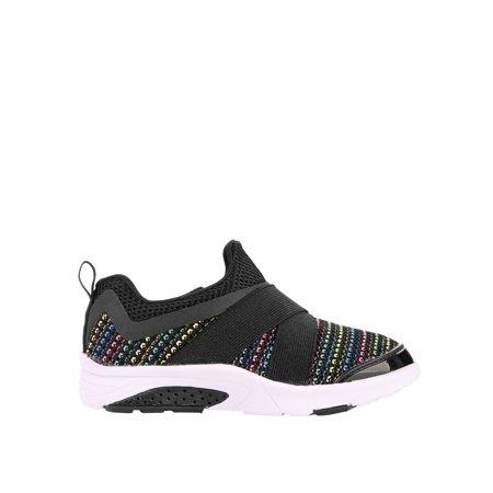 Athletic Works Toddler Girls' Slip On Running Shoe