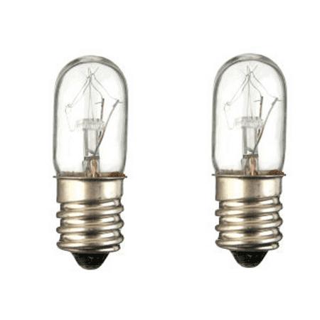 2 Pack Lava Lamp 15 Watt Replacement Bulbs for 10