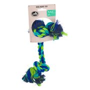Pet Champion 2 Knot Rope Medium Dog Toy Color May Vary