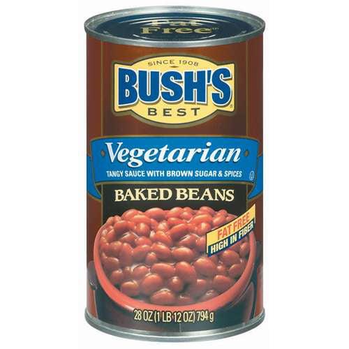 Bush's Best Vegetarian Fat Free Baked Beans, 28 oz