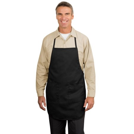 Port Authority® Full Length Apron.  A520 Black Osfa - image 1 of 1