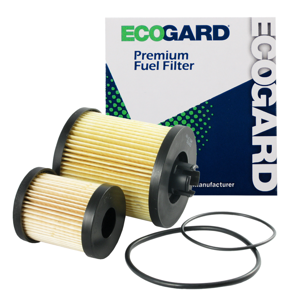 ECOGARD XF55590 Diesel Fuel Filter - Premium Replacement Fits Ford F-250 Super Duty, F-350 Super Duty, Excursion, F-450 Super Duty, F-550 Super Duty