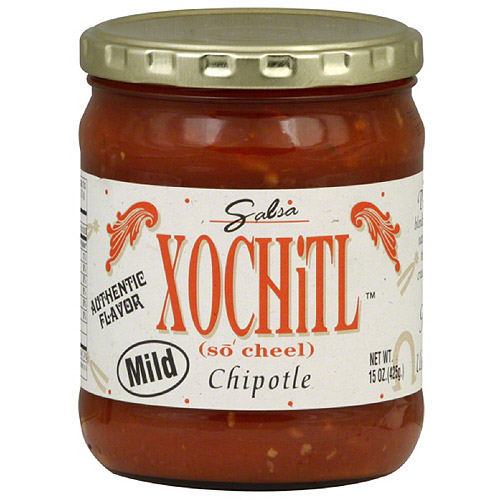 Xochitl Chipotle Mild Salsa, 15 oz, (Pack of 6)
