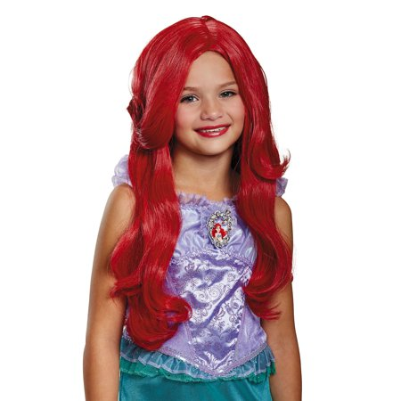 Ariel Deluxe Child Wig - Ariel Little Mermaid Wig
