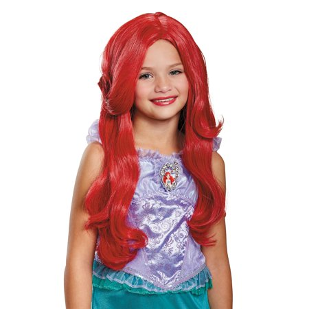 Little Mermaid Wig (Ariel Deluxe Child Wig)