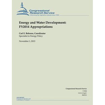 Energy And Water Development  Fy2014 Appropriations