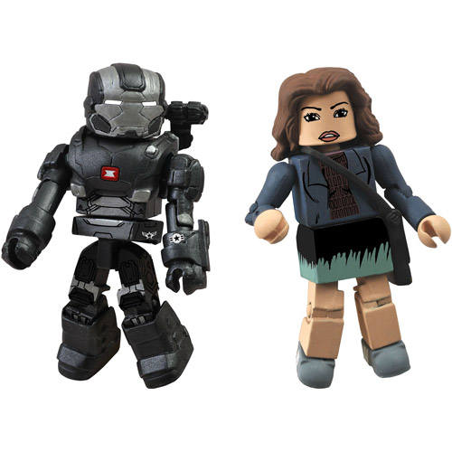 Iron Man 3 Marvel Minimates Series 49 War Machine & Maya Hansen Action Figures, 2-Pack