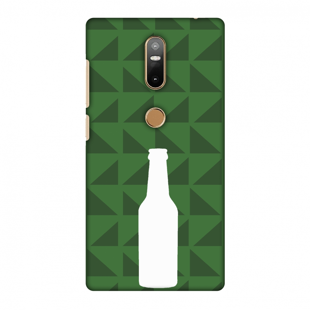 Lenovo Phab 2 Plus Case, Premium Handcrafted Printed Designer Hard Snap on Shell Case Back Cover with Screen Cleaning Kit for Lenovo Phab 2 Plus - Beer And Pattern - Green