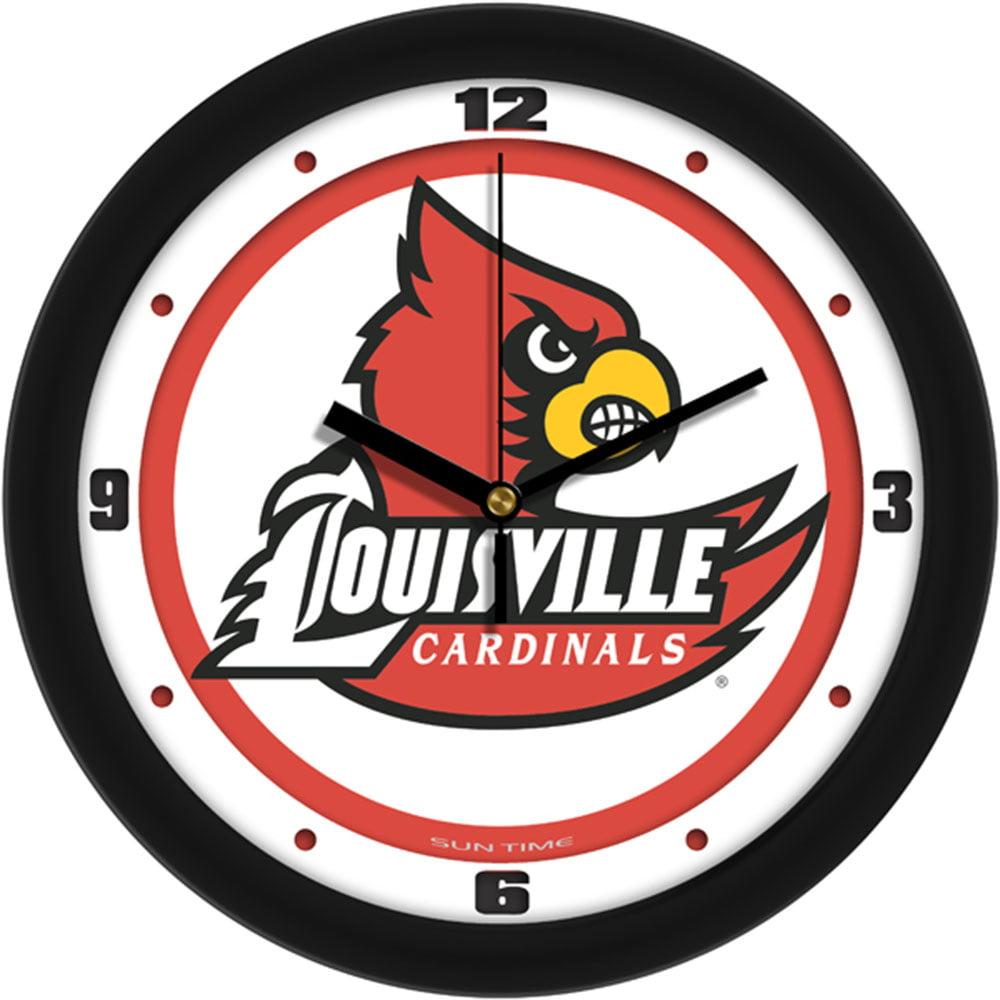 Louisville Cardinals NCAA Wall Clock