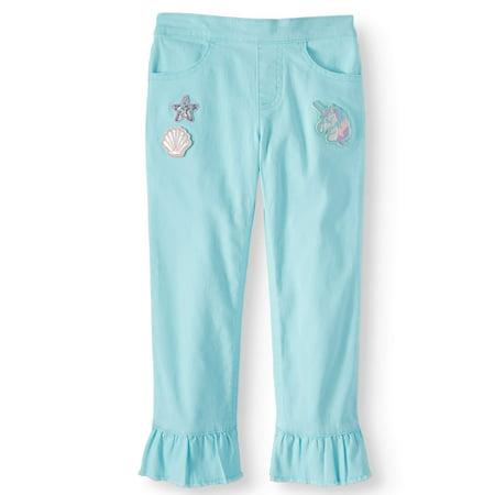 365 Kids From Garanimals Kick Ruffle Cropped Pants (Little Girls & Big Girls)