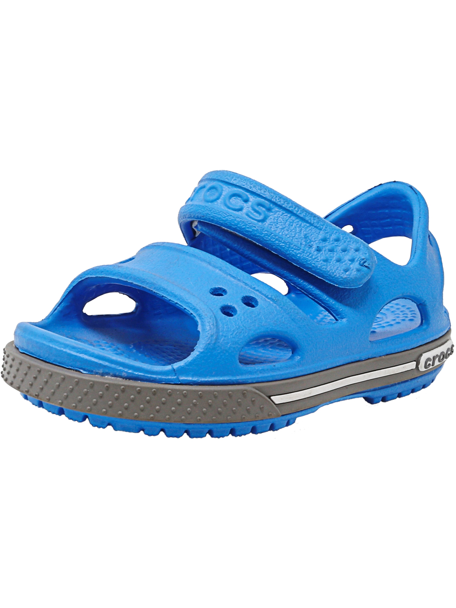 Crocs Crocband Ii Sandal Ocean   Smoke Ankle-High 13M by Crocs
