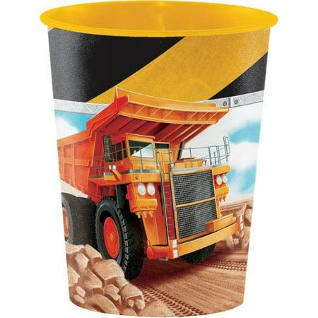 Creative Converting Big Dig Construction Plastic Keepsake Cup 16 Oz.](Big Cups)
