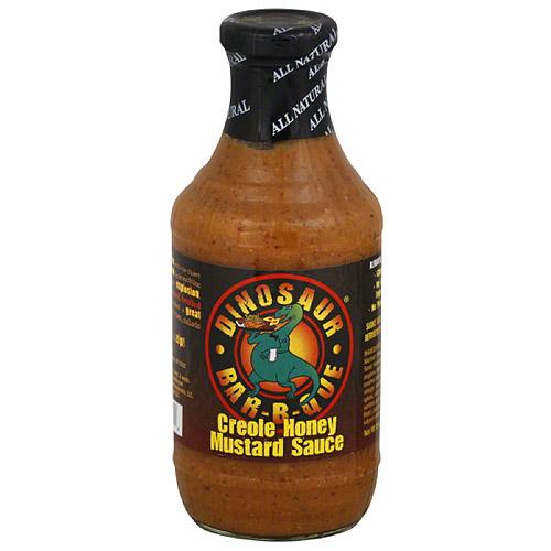 Dinosaur Bar-B-Que Creole Honey Mustard Sauce, 19 oz, (Pack of 6)