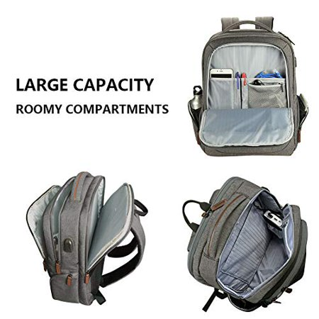 KROSER Laptop Backpack 17.3 Inch Computer Backpack School Backpack Casual Daypack Water-Repellent Laptop Bag with USB - image 2 of 5