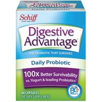 Digestive Advantage Daily Probiotic - Survives Better Than 50 Billion Capsules 80 Each