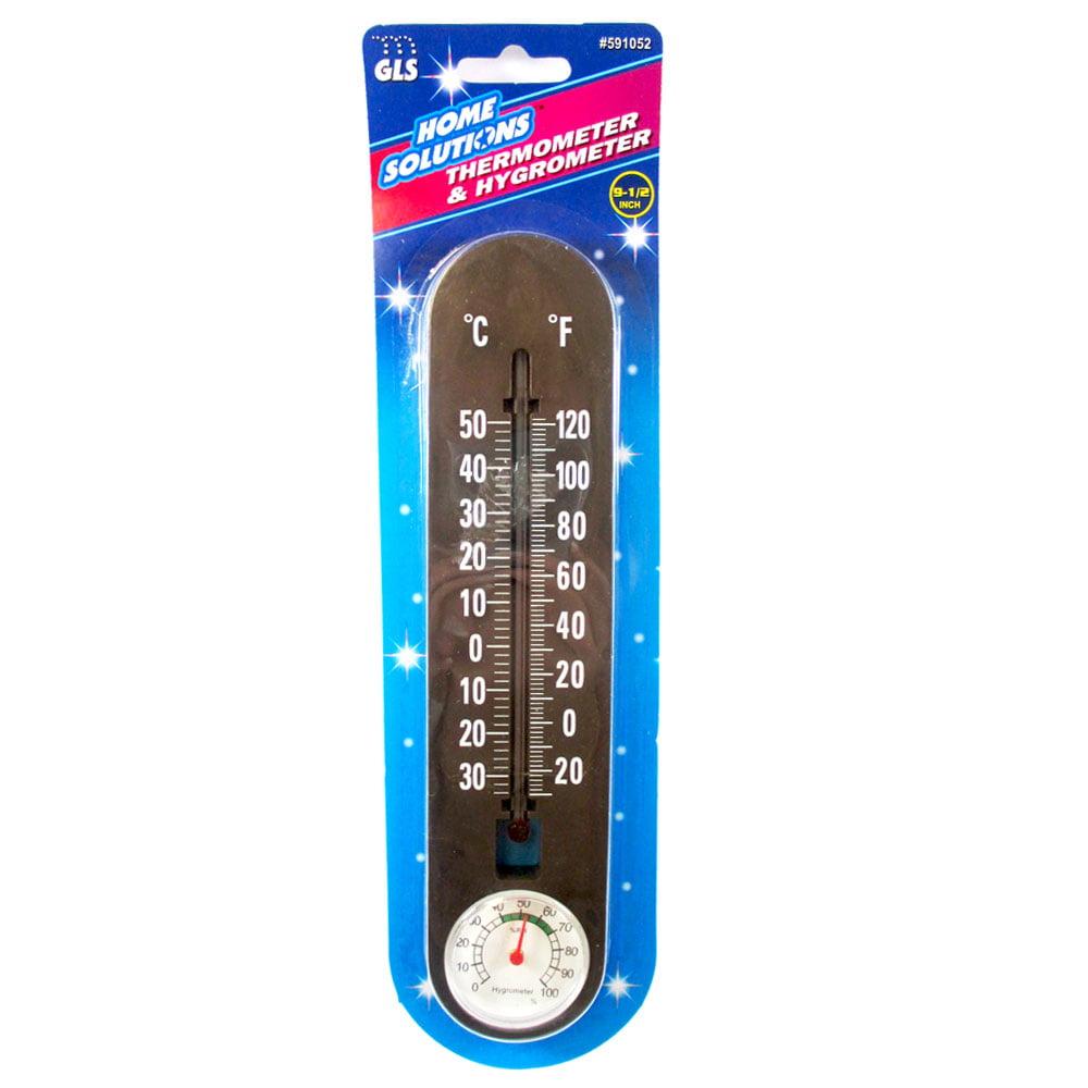 1 Indoor Outdoor Thermometer Hygrometer Measures Temperature Humidity Meter Temp by JMK IIT
