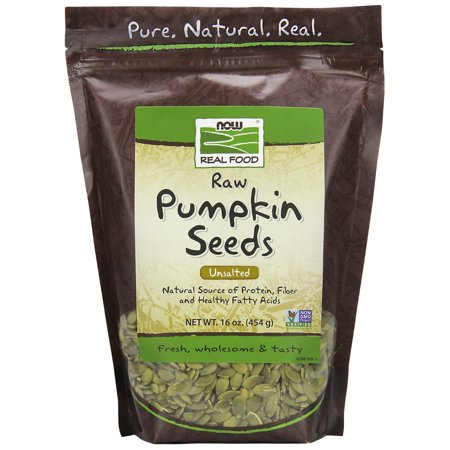Now Foods Raw Pumpkin Seeds, 16.0 Oz