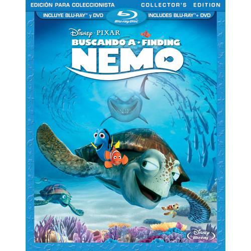 Finding Nemo (Spanish Language Packaging) (Blu-ray + DVD)