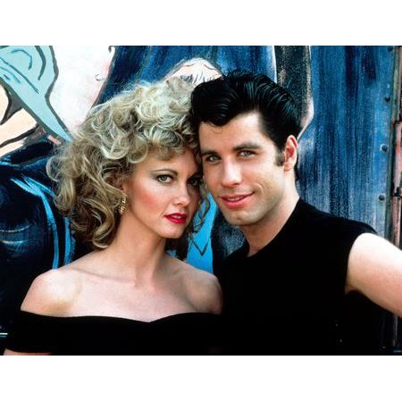 Grease Cast Movie Sandy And Danny 11x17 Mini Poster