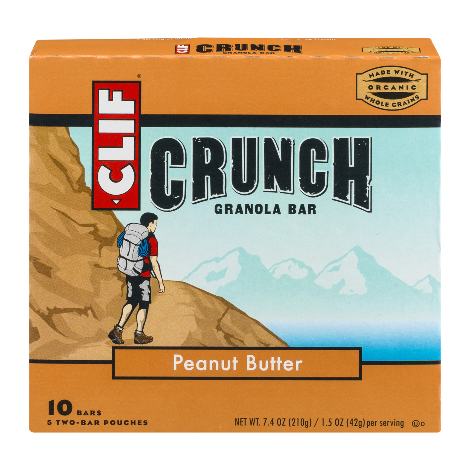 CLIF CRUNCH® Peanut Butter 1.5oz 5ct