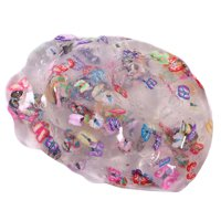 1PCS Clear Crystal Plasticine Clay Jelly DIY Slime Mud Kid Intelligent Toys Stress for Children and Adults Style 5 Butterfly