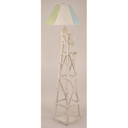 coast lamp mfg coastal living life guard chair 63 39 39 floor lamp. Black Bedroom Furniture Sets. Home Design Ideas