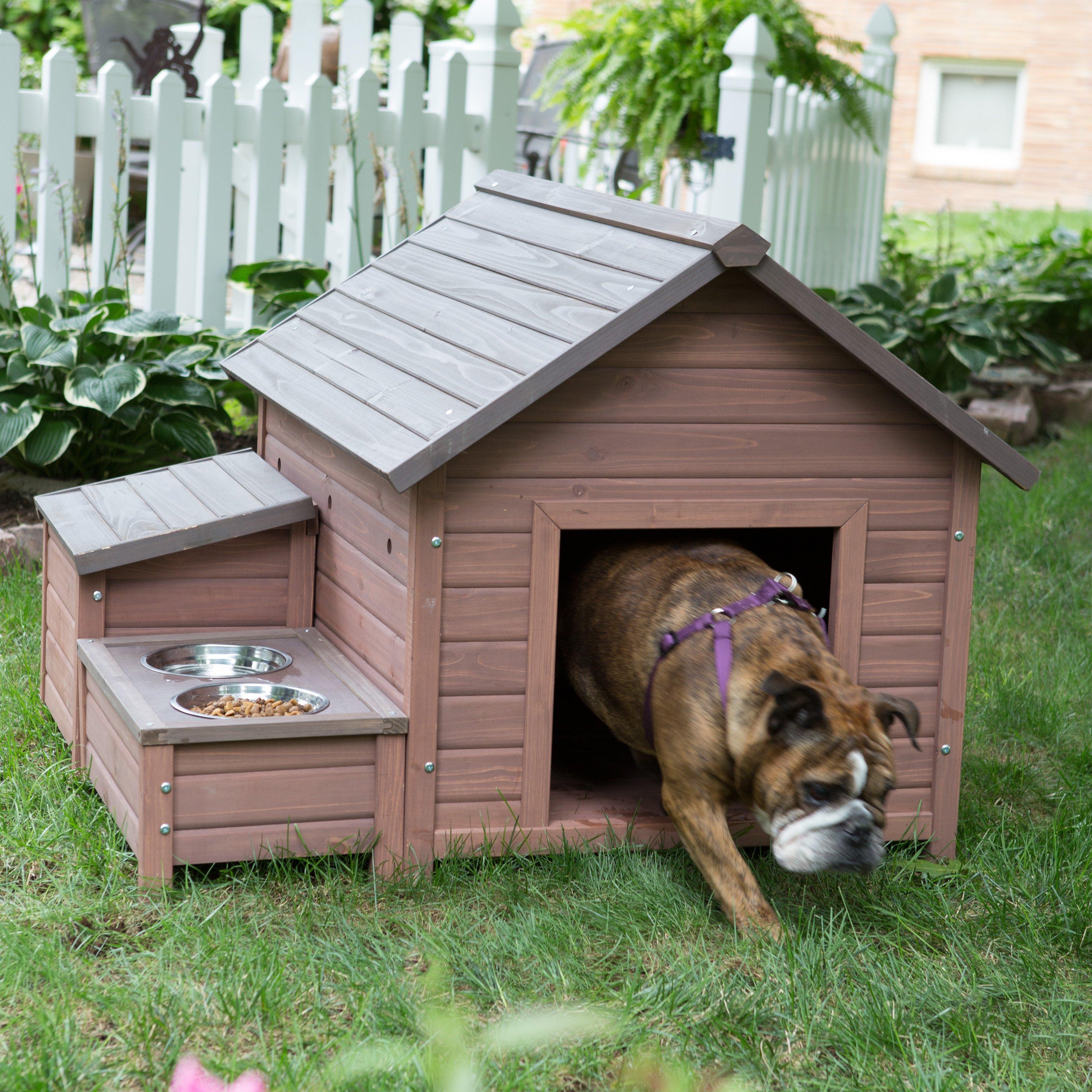 Будка для маленькой собаки своими руками из подручных материалов