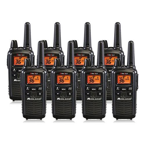 Midland LXT600VP3 (8 Pack) 2Way Radio by Midland