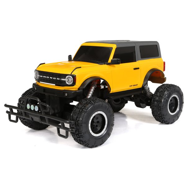 New Bright Rc 1 8 Scale App Driver Remote Control Truck Ford Bronco 2 4ghz 12 8v Walmart Com Walmart Com