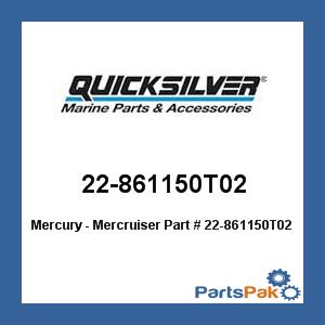 New Mercury Mercruiser Quicksilver Oem Part # 22-861150T02 Fitting Asy-90 Dg