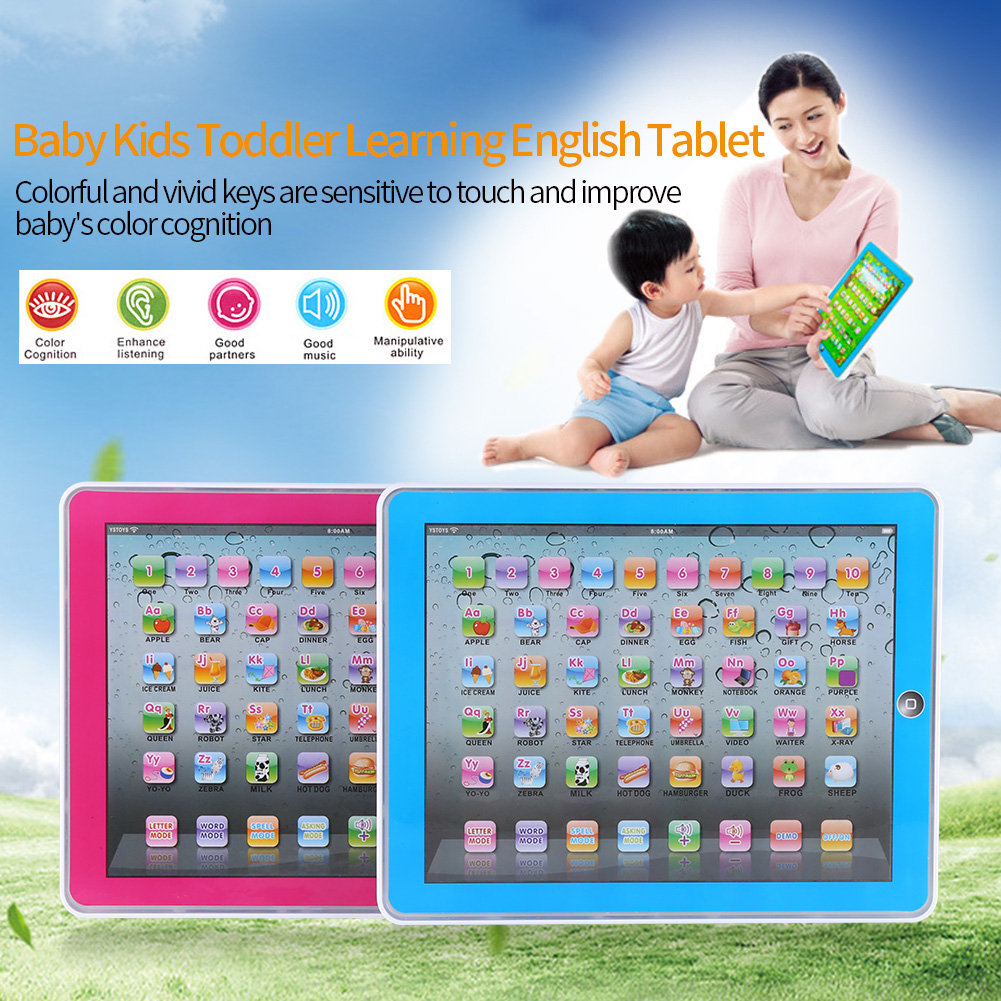 Early Educational Study Toy Baby Kids Toddler Learning English Machine Tablet , Baby Tablet Toy,Learning English Tablet