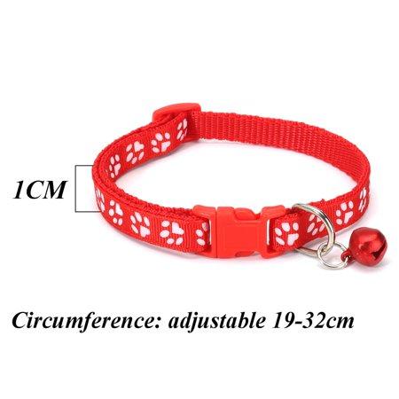 12Pcs Pet Classic Personalized Dog Collar Adjustable Seatbelts 6 Color  - image 10 de 12