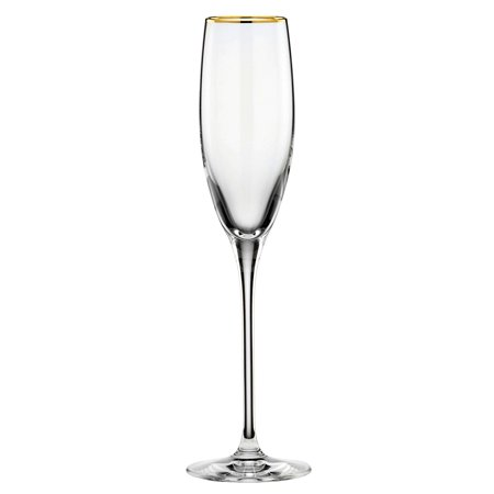 Lenox  Timeless Gold Signature Crystal Flute