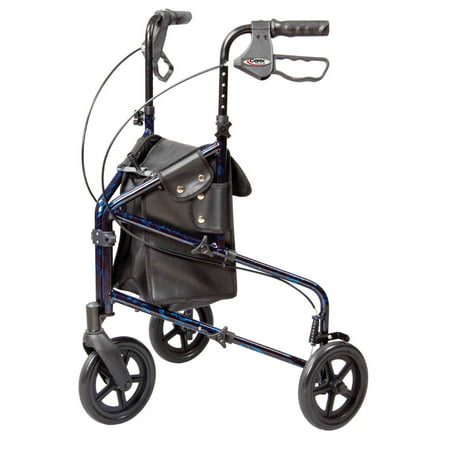 Carex Trio 3 Wheel Rolling Walker Rollator