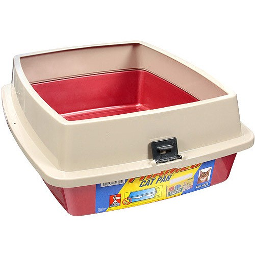 Van Ness Large Framed Cat Litter Box, Colors Vary