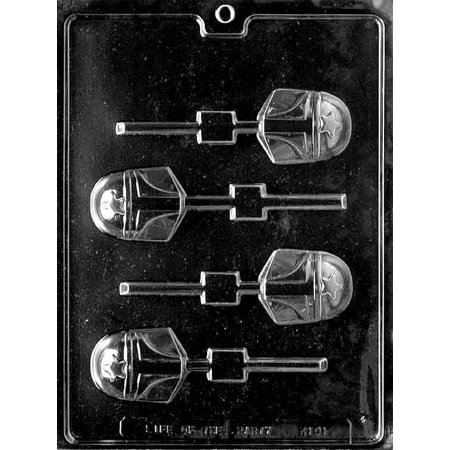 Star Wars Lollipop Sucker Chocolate Mold Mould Candy Soap Party Favor Birthday m142 (Star Wars Candy)