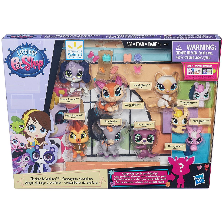 Littlest Pet Shop Playtime Adventures - Walmart.com