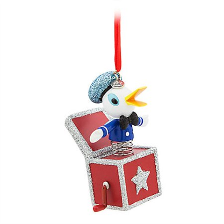 Store Donald Duck (Disney Store 2017 Vintage Toy Series Donald Duck Sketchbook Ornament New w)