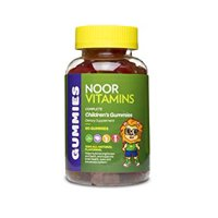 NoorVitamins Gummies Complete - 90 Count - Children's Gummy Multivitamins - Halal Vitamins