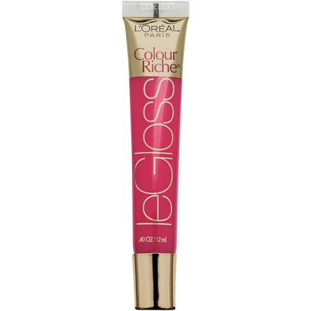 L'Oreal Paris Colour Riche Le Gloss Lip Gloss, 154 Watermelon Crush