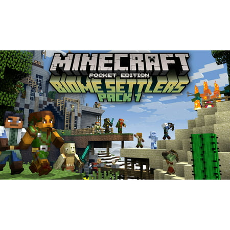 Minecraft: Wii U Edition DLC - Biome Settlers Skin Pack 1, Nintendo, WIIU, [Digital Download], 0004549666139](Halloween Skin Pack Minecraft Pc)