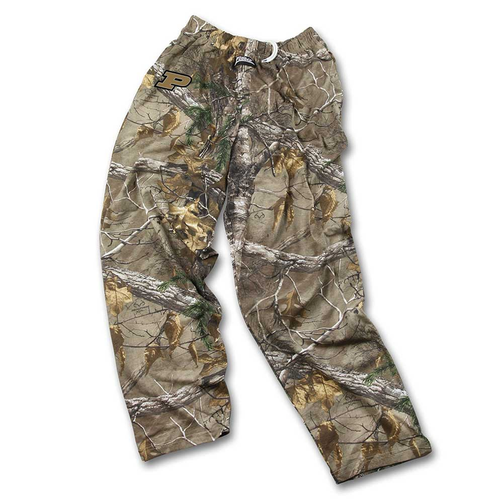 Mens NCAA Realtree Xtra Camo Print Team Logo Active Pants