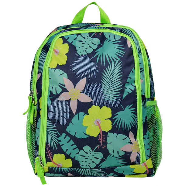 Kids Tropical Floral Backpack