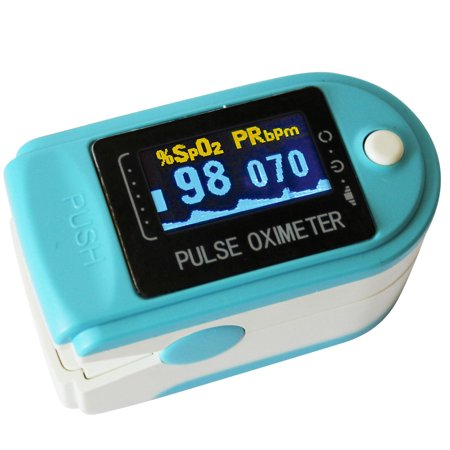 Finger Oxygen Meter Pulse Oximeter by LotFancy - FDA Approved SpO2