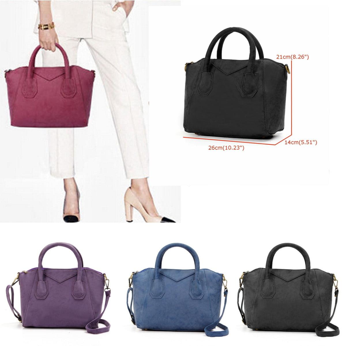Lady Women Leather Shoulder Bag Tote Messenger Crossbody Satchel Purse Handbag