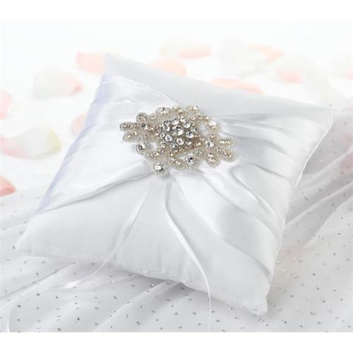 Lillian Rose Jeweled Motif Ring Bearer Pillow
