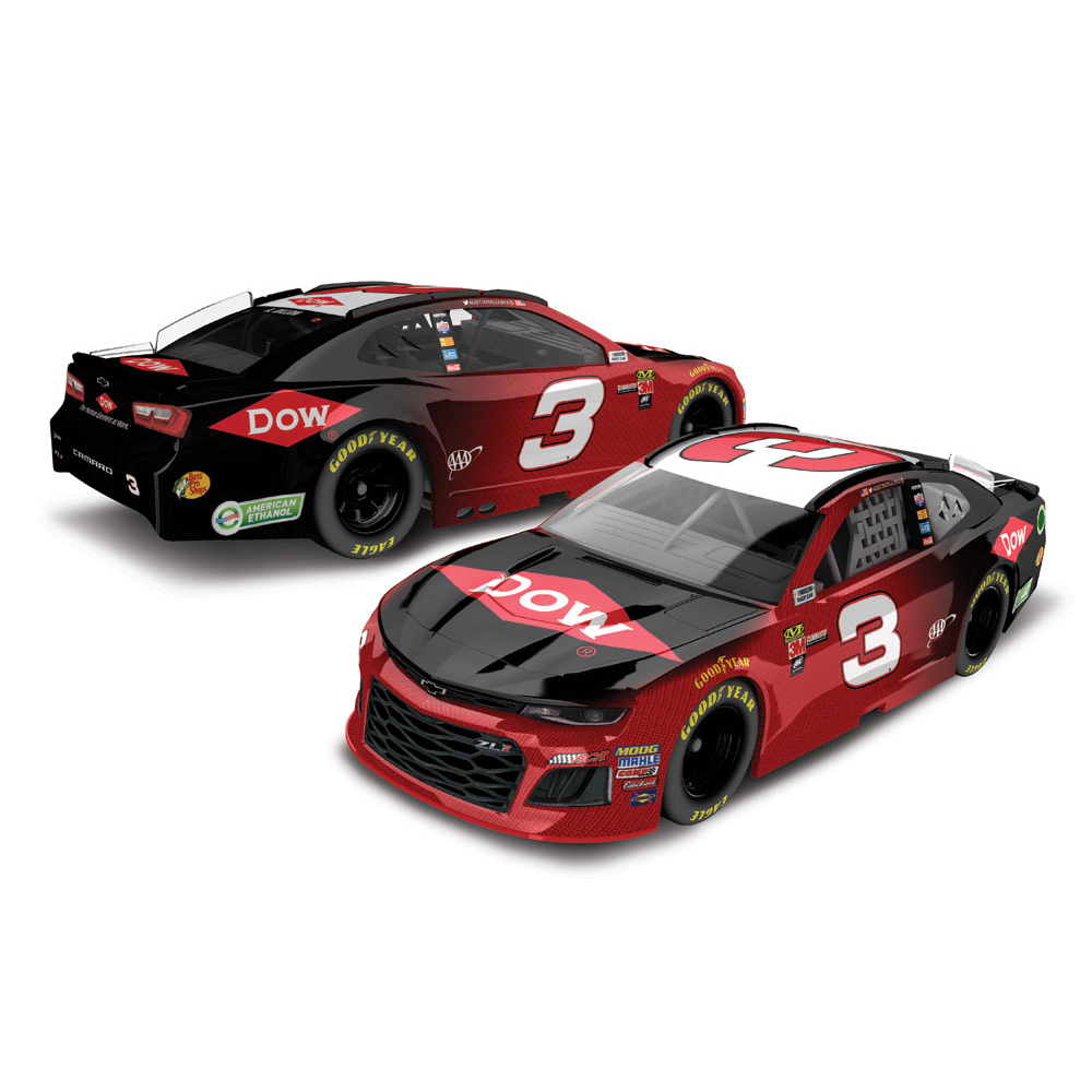 Austin Dillon Action Racing 2018 #3 Dow 1:64 Monster Energy Nascar Cup Series Die-Cast... by Lionel LLC