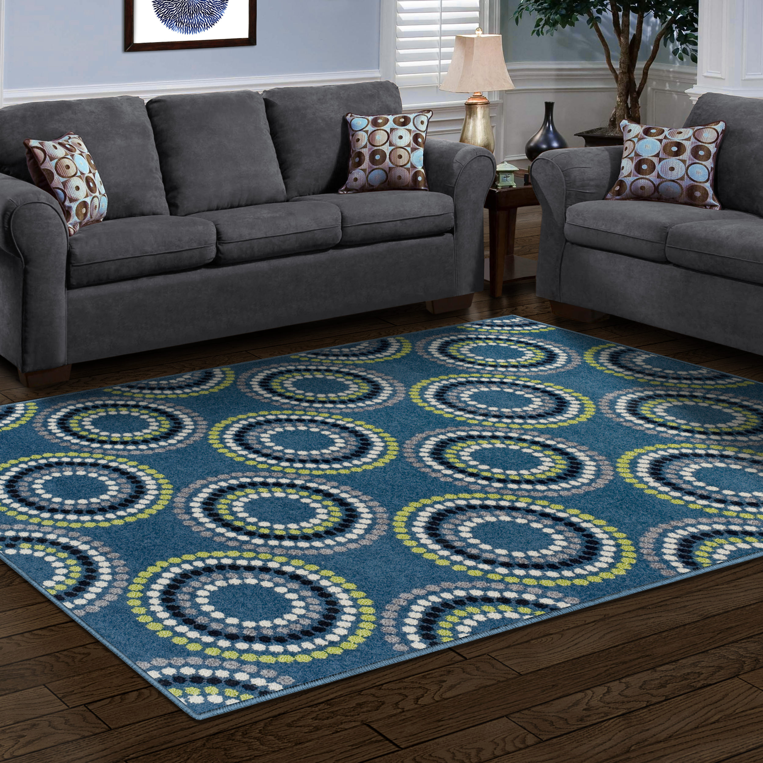 affordable area rugs. Superior Burgess Collection, 6mm Pile Height With Jute Backing, Quality And Affordable Area Rugs, 8\u0027 X 10\u0027 Blue - Walmart.com Rugs