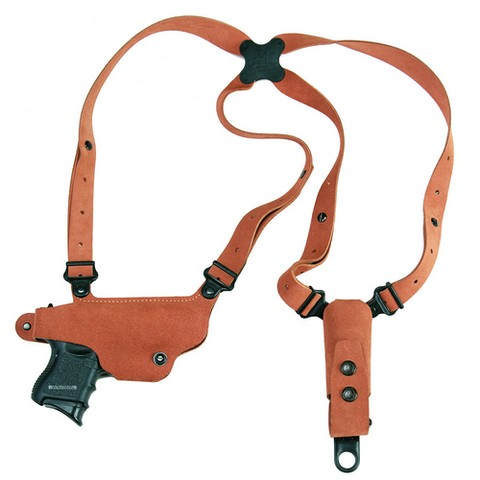 Galco CL636 Classic Lite Shoulder Holster RH Tan Leather Ruger LC9