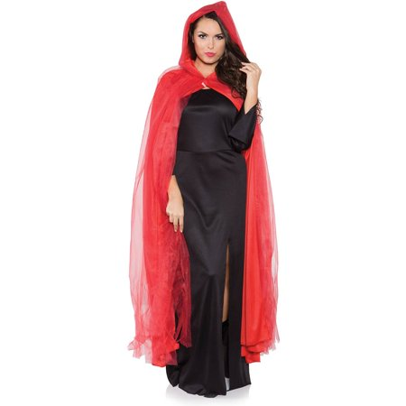 Long Red Riding Hood Halloween Costume Cape Cloak Ghost Cape - Capes And Cloaks